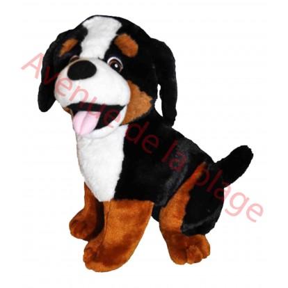 Peluche chien Bouvier Bernois 38 cm