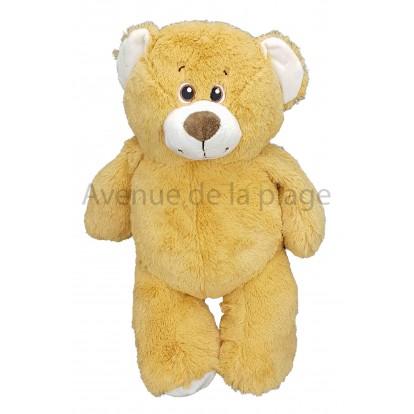Ours en peluche marron clair 38 cm