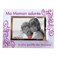 """Cadre photo """"Ma Maman Adorée"""""""