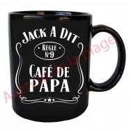 "Mug humoristique Jack a dit ""Café de Papa"""