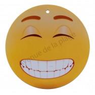 Pancarte Émoticône grand sourire