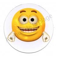 Magnet Émoticône heureux