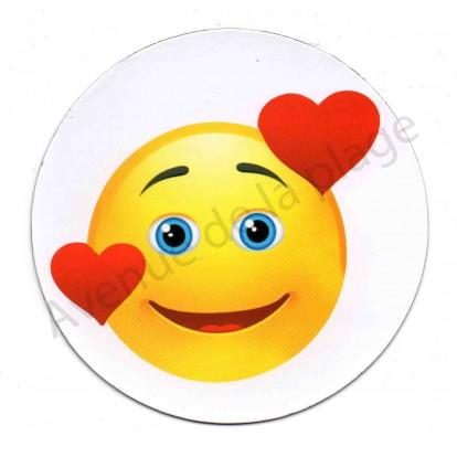 Magnet Émoticône coeur