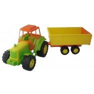 Tracteur + remorque 70 cm