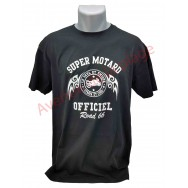 "T-shirt humoristique ""Super Motard officiel"""