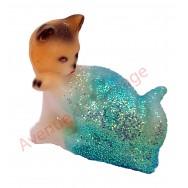 Sujet météo chat faisant sa toilette
