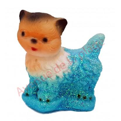 Sujet météo chaton, bleu par beau temps.