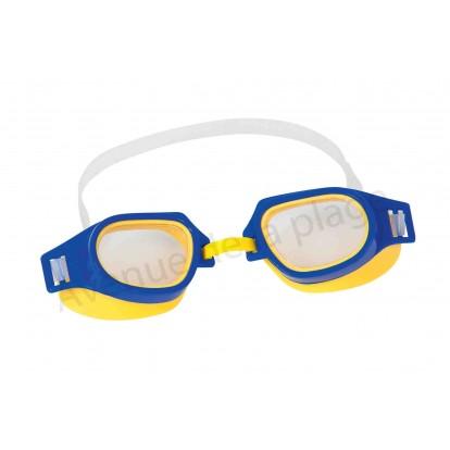 Lunettes de natation pour enfant bleue.