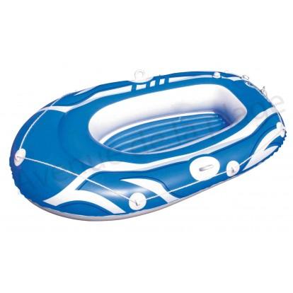 Bateau gonflable pour enfant 165 cm bleu.