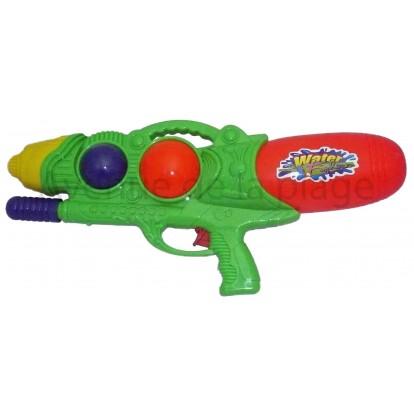 Pistolet à eau 51 cm vert, canon à eau.