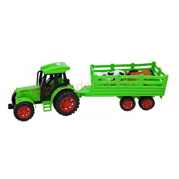 tracteur avec animaux de la ferme jouet pas cher pour enfant. Black Bedroom Furniture Sets. Home Design Ideas