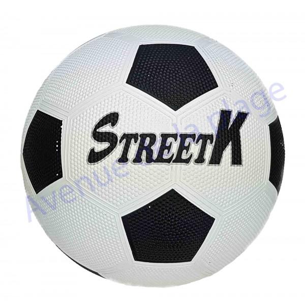 ballon de football en plastique street k pas cher. Black Bedroom Furniture Sets. Home Design Ideas
