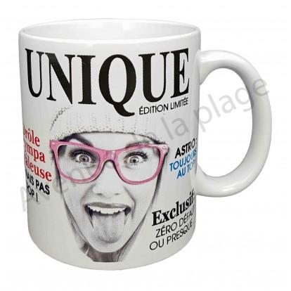 "Mug humoristique ""Je suis unique"""