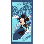 Serviette de plage Mickey Safari Surf