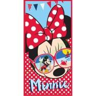 Drap de bain Minnie à la plage