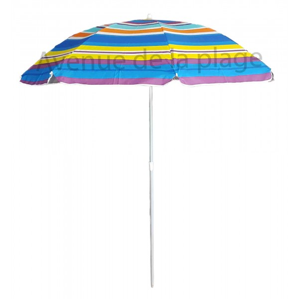 parasol de plage anti uv multicolore 200 cm parasols. Black Bedroom Furniture Sets. Home Design Ideas
