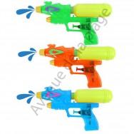 Pistolet à eau double jets pour enfant 20 cm