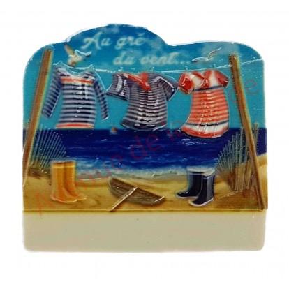 magnet marini res sur corde linge aimant pour frigo pas cher. Black Bedroom Furniture Sets. Home Design Ideas
