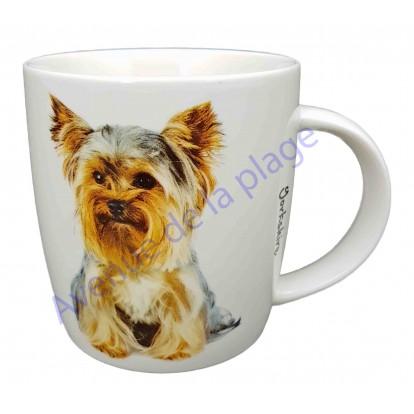 Mug chien Yorkshire