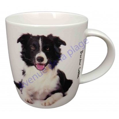 Mug chien Border Collie