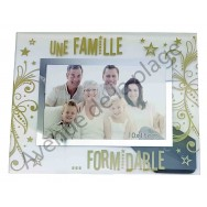 "Cadre photo ""Une Famille Formidable"""
