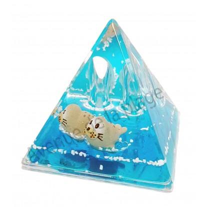 Presse papier pyramide phoques