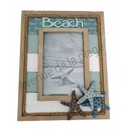 Cadre photo Beach et étoiles de mer