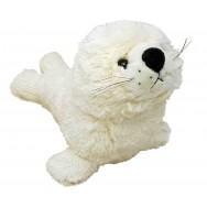 Peluche bébé phoque blanc 31 cm