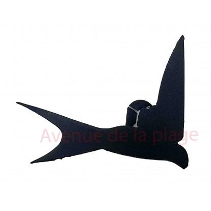 Hirondelle en métal à accrocher 13.5 cm A