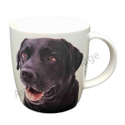 Mug chien Labrador noir