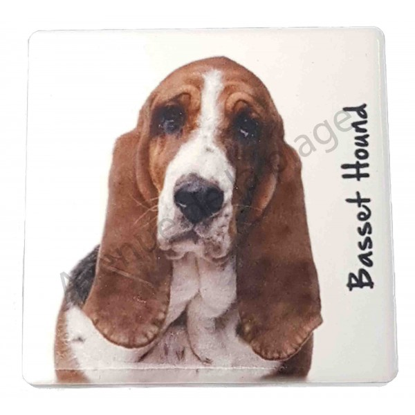 magnet basset hound pas cher magnet chien pas cher. Black Bedroom Furniture Sets. Home Design Ideas