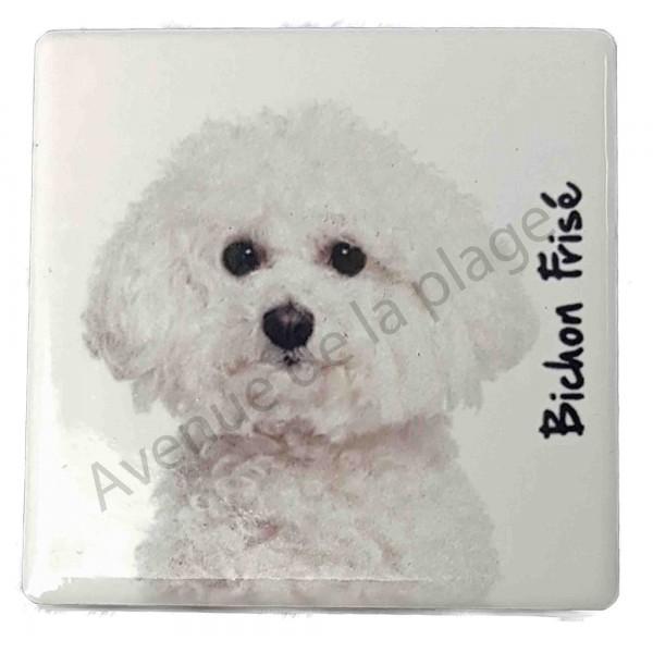 magnet bichon fris pas cher magnet chien discount. Black Bedroom Furniture Sets. Home Design Ideas