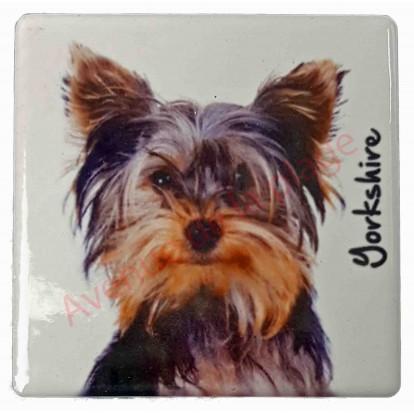 magnet yorkshire nain pas cher aimant pour frigo chien. Black Bedroom Furniture Sets. Home Design Ideas